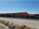 BNSF 4292 rolls westbound as a #3 unit on A Stack Train heading toward Cajon Pass.