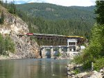 Box Canyon Trestle and Dam
