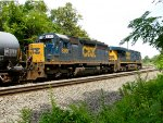 CSX 8361 and 5467