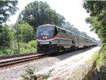 Amtrak 145 leads P092, Richmond VA