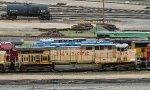 UP 7015 - SP 590115 flat and NATX 270026 tankcar