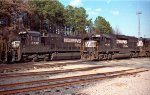 NS 8732 & 4638 sit in Glenwood Yard