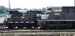 Newest and oldest NS EMD's share the yard