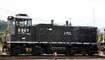 NS 2367 sits in Glenwood Yard
