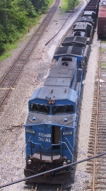 NS 8363 leads a trio of GE units