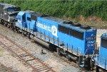 NS 5406 heads across Boylan Junction