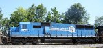 NS 5413 has its Conrail numbers showing through