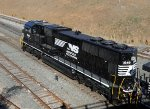 NS 1848, a recently rebuilt SD70ACC, less than a month old