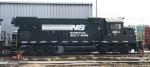 NS 1409 sits in Glenwood Yard