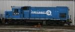 NS 1456 sits in Glenwood Yard