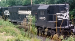 NS 4603 heads east out of town