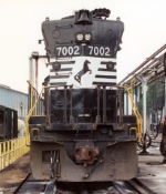 NS 7002 sits at the fuel racks