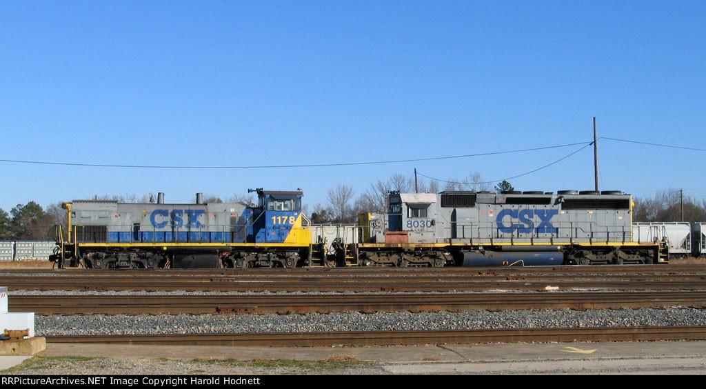 CSX 1178 & 8030