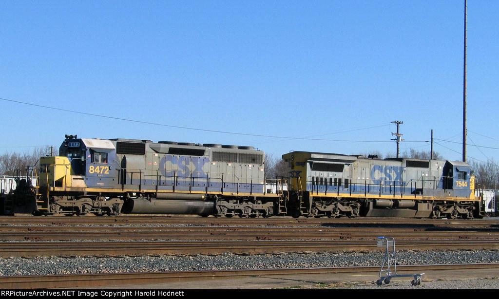 CSX 8472 & 7544