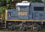 CSX 8523 shows off its updates