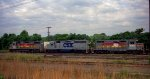 CSX 2715, 6811, and 1702
