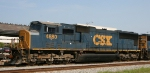 CSX 4680 makes a rare North Carolina appearance