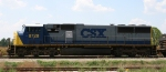 A nice side view of CSX 8728