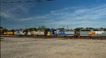 CSX 6054 is the newest repaint in the crowd