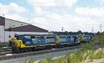 A collection of CSX locos