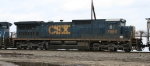 CSX 7599 displays its new YN3 paint scheme