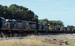 "CSX 2276 and others await their fate in the ""dead line"""