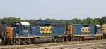 CSX 6481 & 2276 sit in the yard