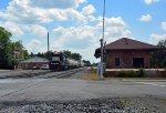 Cofg Depot and a SOU SD40-2