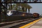 BNSF7416, BNSF3883 and BNSF6612 passing Amtrak451