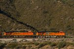 BNSF7762 and BNSF7749 passing Cajon Junction