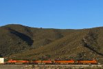 BNSF7384, BNSF7030, BNSF4903 and BNSF7574 passing Cajon Junction