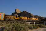 UP5504, UP7441 and UP7492 passing Mormon Rocks
