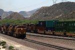 BNSF3990, BNSF4078, BNSF3787, BNSF8020 and BNSF7842 passing Cajon Junction
