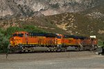 BNSF3934, BNSF7488, BNSF6773 and BNSF5174 passing Cajon Station