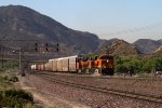 BNSF6592, BNSF7178 and BNSF8071 passing Cajon Station