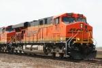BNSF 7621 closeup