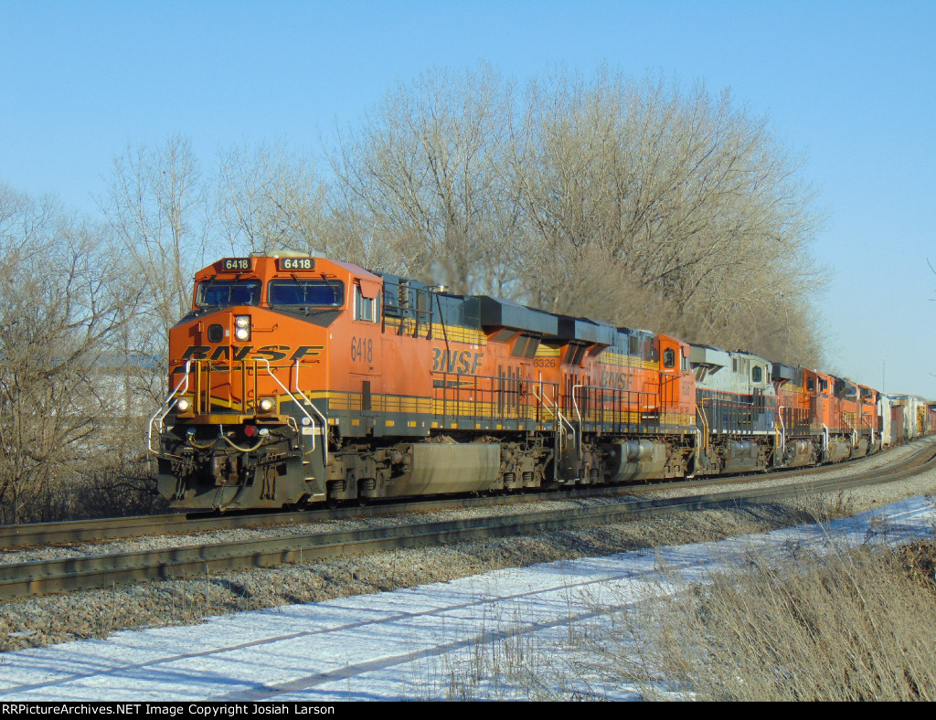 BNSF 6418 West