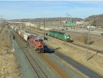 CP 8829 and BNSF 1458