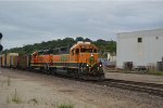 BNSF 2131 leads westbound transfer at santa fe jct