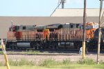 BNSF 4578 and 6735