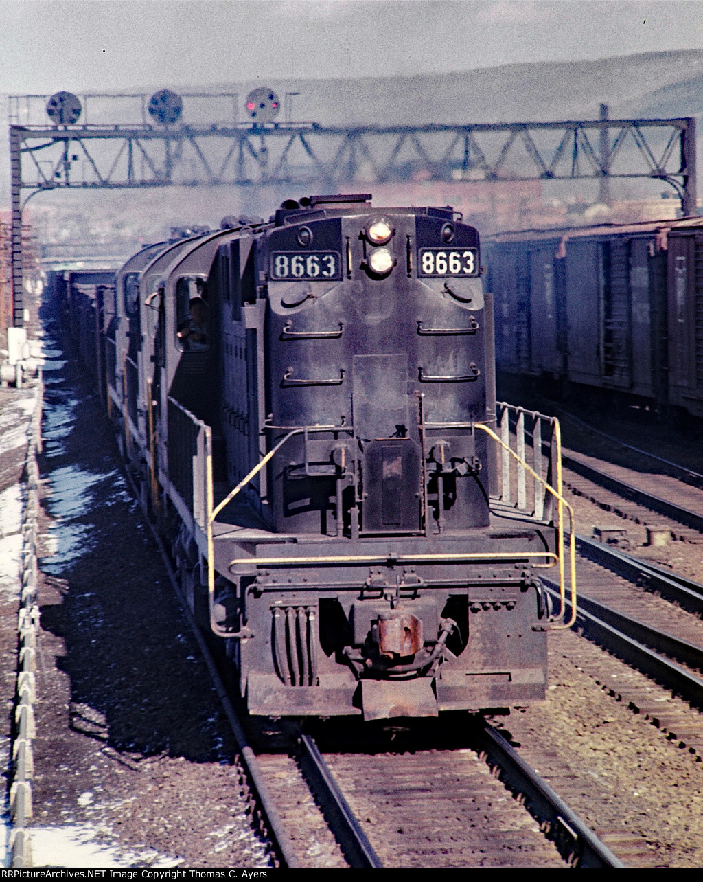 PRR 8663, AS-18AM, 1966