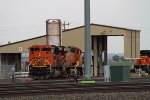 BNSF9085, BNSF5940 and BNSF8577 outside the Diesel Depot