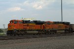 BNSF8783 and BNSF6312 waiting in the yard
