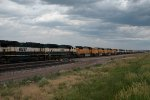 BNSF9827, BNSF9779, BNSF8929, BNSF9961 + 65 other SD70MACs stored in a line