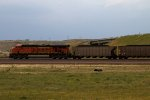BNSF5893 approaching the Junction