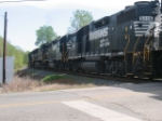 Five Locomotives at Ogden Road in Rock Hill SC