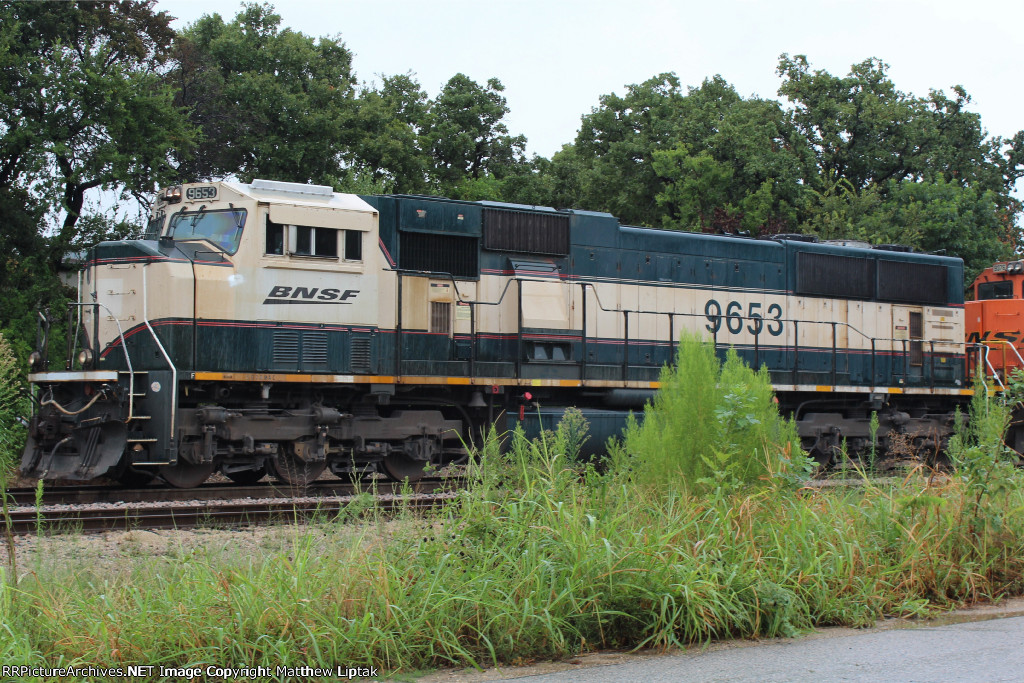 BNSF 9653