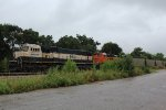 BNSF 9653 and 9376