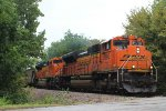 BNSF 9190 and 9126