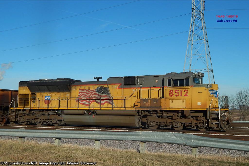 Coal loads DPU